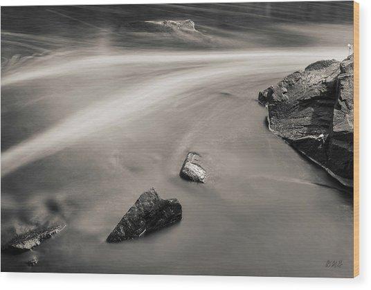 Blackstone River II Albion Toned Wood Print by David Gordon