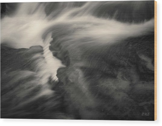Blackstone River Xxv  Toned Wood Print by David Gordon