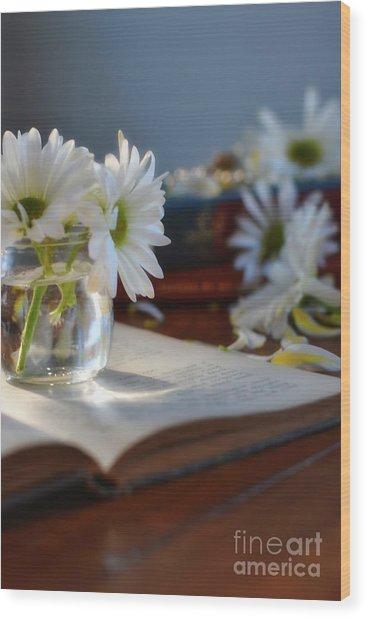 Bloom And Grow - Still Life Wood Print