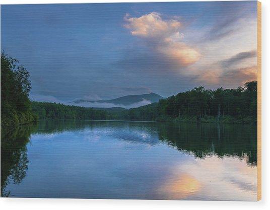 Blue Ridge Parkway - Price Lake - North Carolina Wood Print