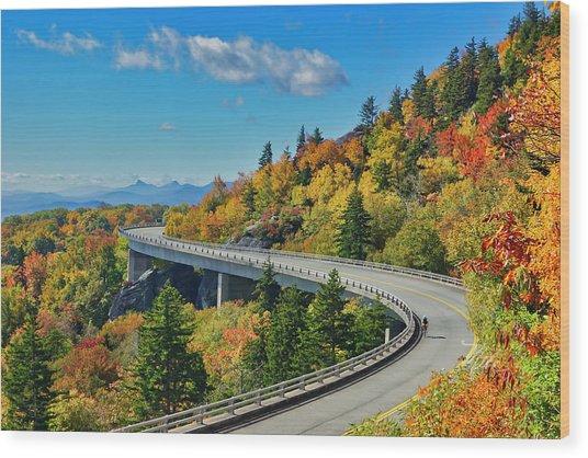 Blue Ridge Parkway Viaduct Wood Print
