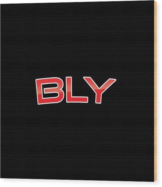 Bly Wood Print