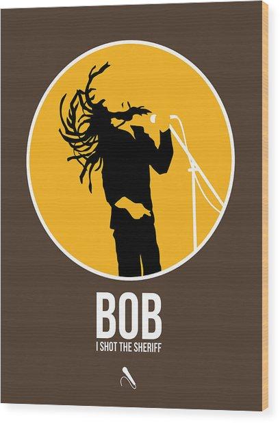 Bob Poster Wood Print