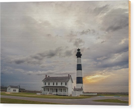 Bodie Island Lighthouse No. 2 Wood Print