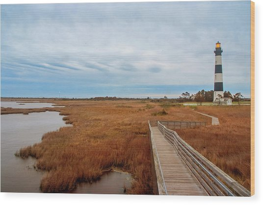 Bodie Island Lighthouse No. 3 Wood Print