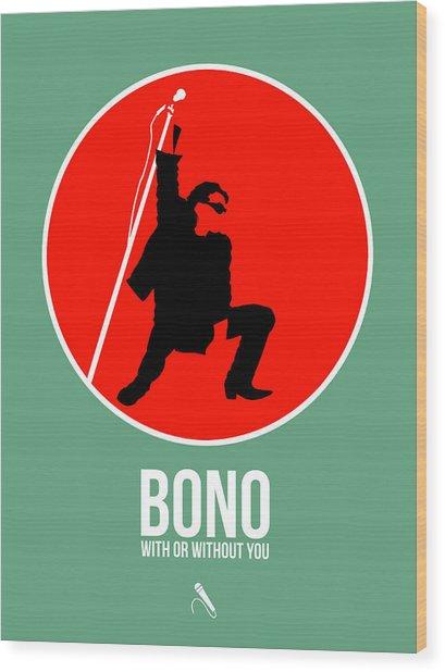 Bono Wood Print