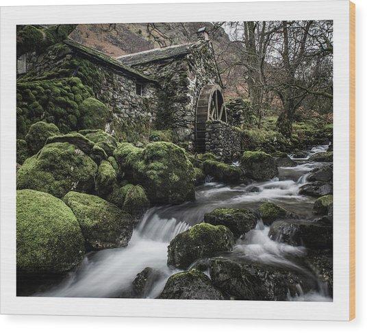 Borrowdale Mill  Wood Print