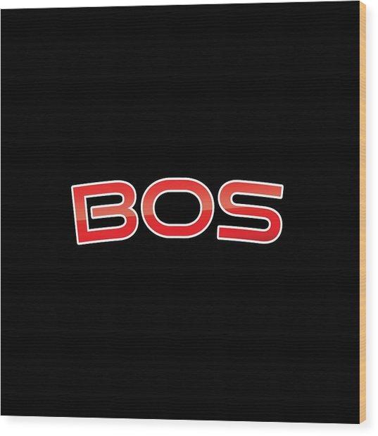 Bos Wood Print