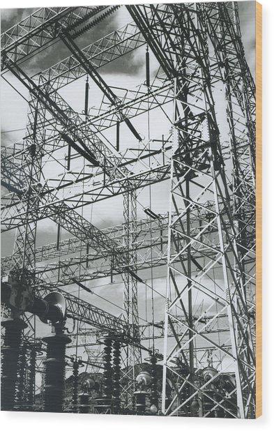 Boulder Dam Power Units, 1941 Wood Print by Archive Photos