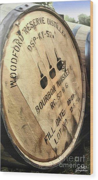 Bourbon Barrel Wood Print