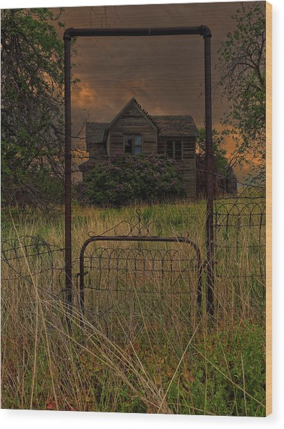 Boyd Farmhouse Wood Print