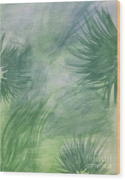 Beach Collection Breeze 1 Wood Print