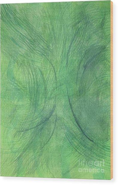 Breeze 3 Wood Print