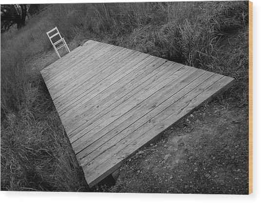 Bridge / The Chair Project Wood Print