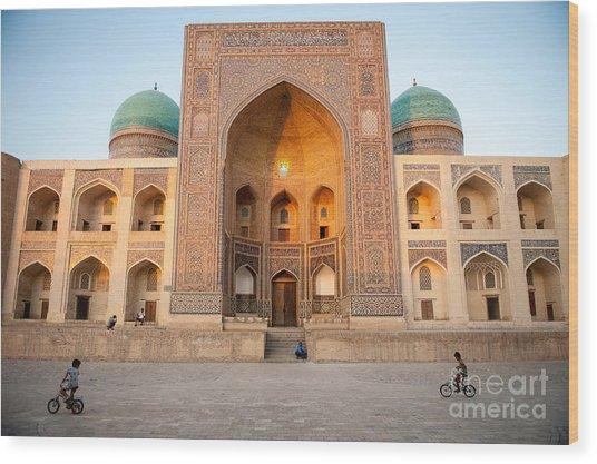 Bukhara, Uzbekistan - July 30, 2012 Wood Print