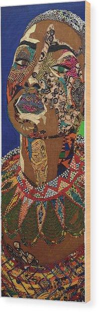 Ibukun Ami Blessed Mark Wood Print