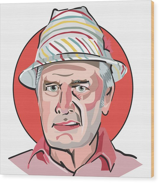 Caddyshack Judge Smails Wood Print
