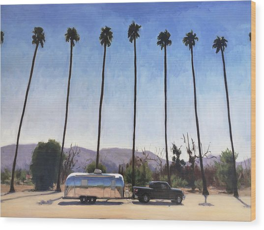 California Honeymoon Wood Print