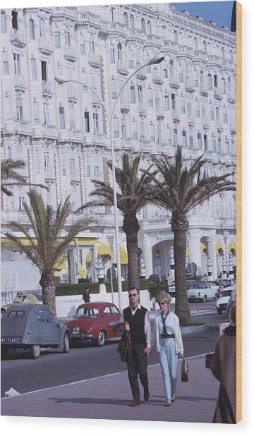 Cannes Wood Print