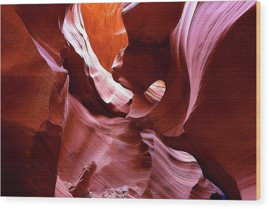 Canyon Colors Wood Print