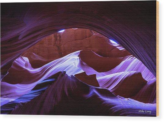 Canyon Magic Wood Print