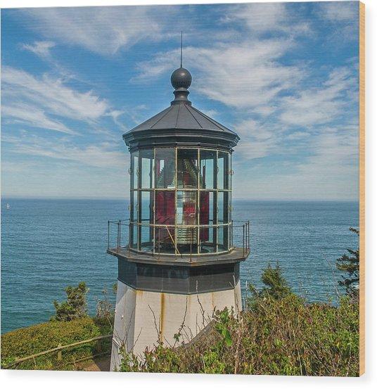 Cape Mereas Light Wood Print