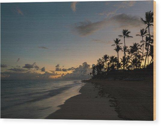 Caribbean Rise Wood Print