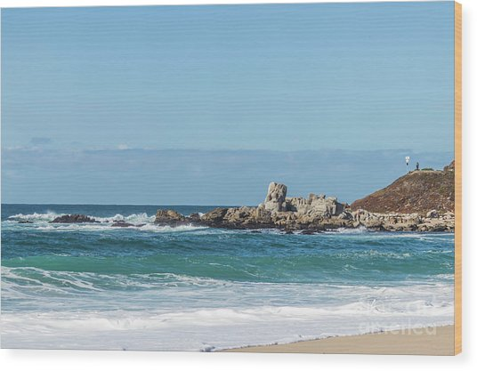 Carmel-by-the-sea Wood Print