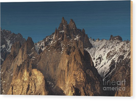 Cathedral Of Passu Wood Print