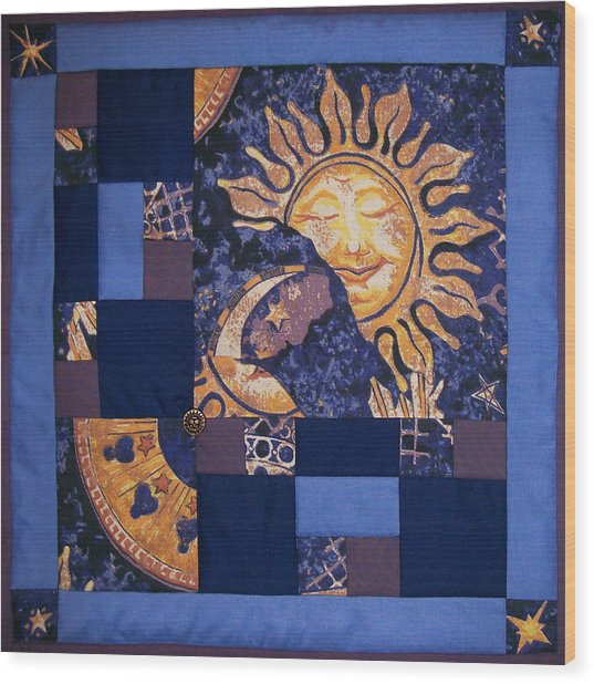 Celestial Slumber Wood Print