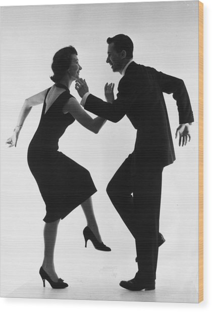 Cha-cha-cha Wood Print by Thurston Hopkins