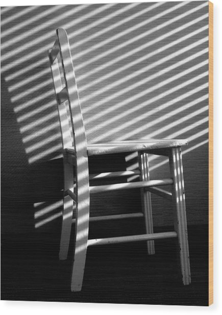 Blinds 1 / The Chair Project Wood Print