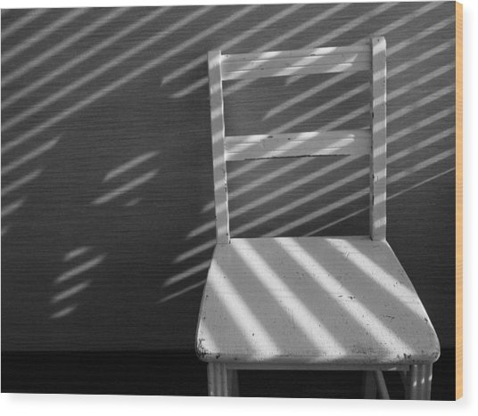 Blinds 2 / The Chair Project Wood Print