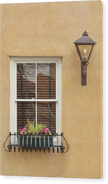 Charleston Architectural Detail 2 Wood Print
