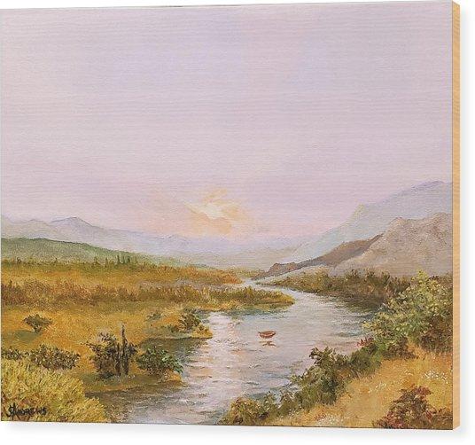 Charon's Sabbatical Wood Print