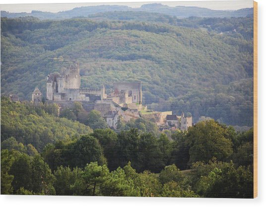 Chateau Beynac, France Wood Print