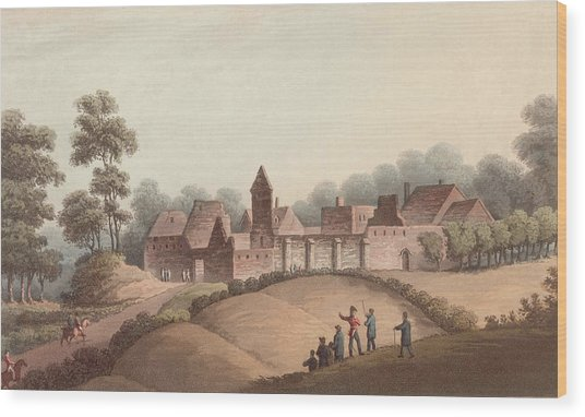 Chateau Dhougoumont Wood Print by Hulton Archive