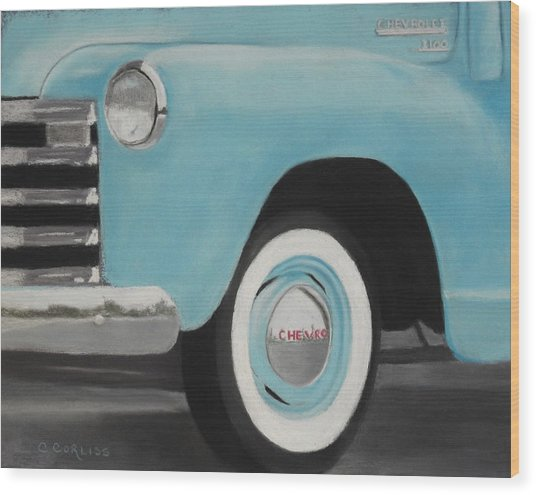 Chevy Truck 3100 Wood Print
