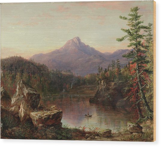 Chocorua Peak, New Hampshire Wood Print