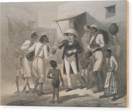 Christian Missionary Wood Print by Hulton Archive