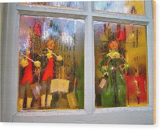 Christmas Chorale Wood Print