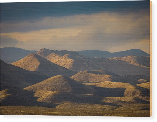 Chupadera Mountains II Wood Print