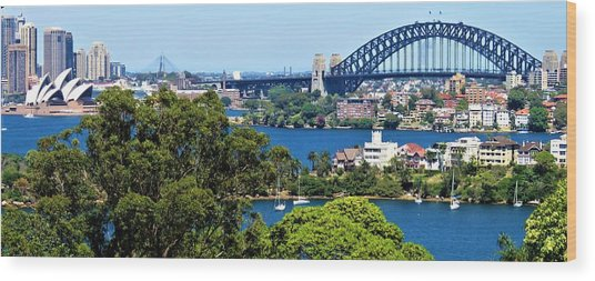 Wood Print featuring the photograph Classic Sydney by Joan Stratton
