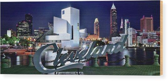 Cleveland Ohio 2019 Wood Print