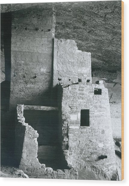 Cliff Palace, Mesa Verde National Park Wood Print by Archive Photos