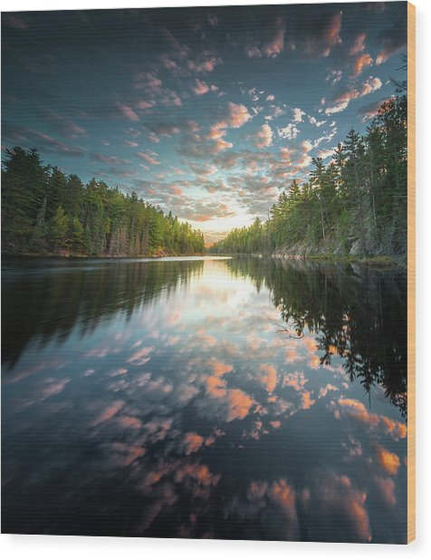 Cloud Atlas / Boundary Waters, Minnesota  Wood Print