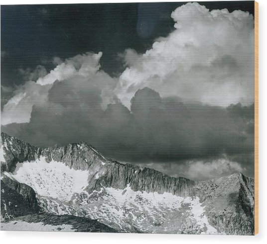 Clouds - White Pass Wood Print by Archive Photos