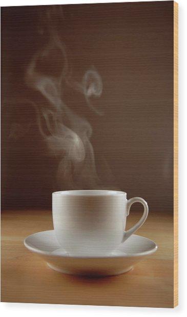 Coffee Series Wood Print