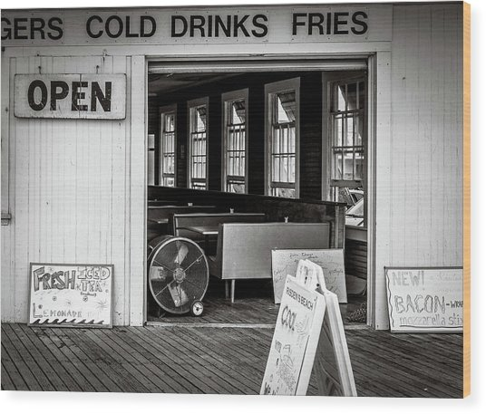 Cold Drinks Wood Print