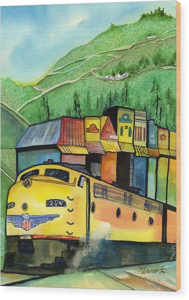 Colfax California Wood Print